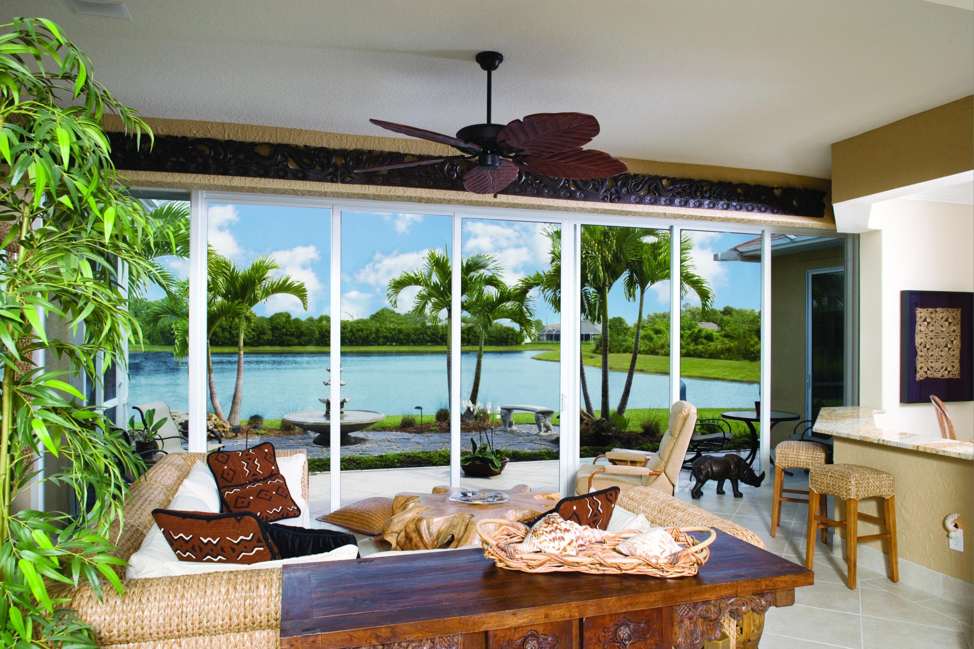 Glass sliding door vortex windows impact hurricane protection glass especially designed for florida wind loads offered in bypass center meet pocket doors all doors custom built to your planetlyrics Images